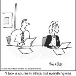 accounting ethics funny